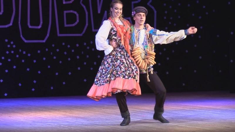 Выпускники Джаз-Импровиз, Вероника Коржавина, Данил Черноус в оригинальном, юморном танце. Браво!