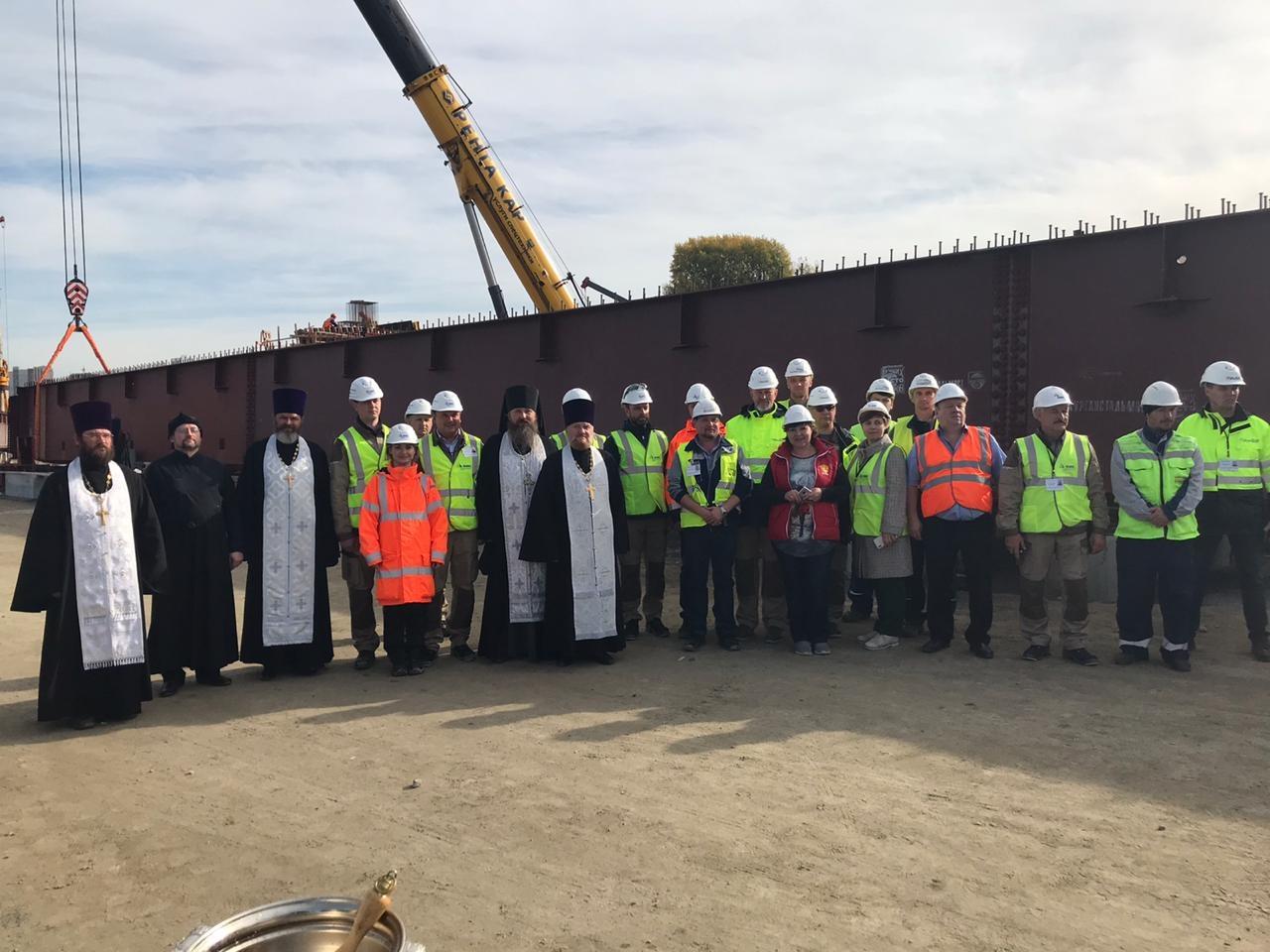 Святого Духа призвали на строительство четвертого моста в Новосибирске