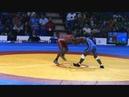 Панамериканские игры 2011. Вольная борьба. Мужчины -66. 1/2 финала. Ливан Лопес Куба - Тейон Уэр США