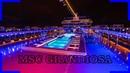 MSC Grandiosa Ship Tour with Nightshots DJI Osmo Pocket 2019 4K