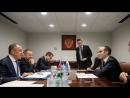 С.Лавров и Государственный секретарь Сан-Марино по иностранным делам