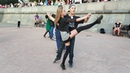 Медленный вальс - Open air - Бальные танцы в Парке Горького, Москва, 15 сентября 2018