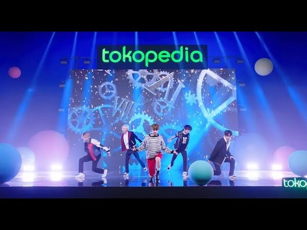 Tokopedia x Tomorrow X Together We Lost The Summer di TokopediaWIB TV Show 25 Maret 2021