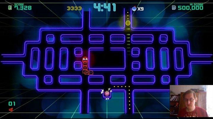Босс в Пэк-Мене - Pac-Man Championship Edition 2