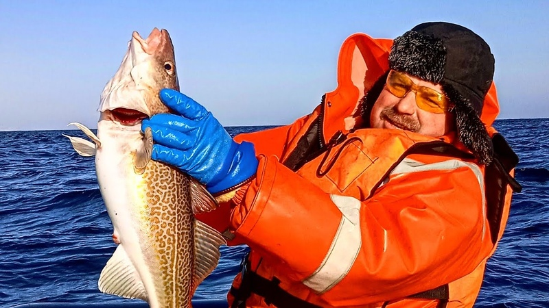 ТЕРИБЕРКА 2021г. РЫБАЛКА в БАРЕНЦЕВОМ МОРЕ. TERIBERKA 2021. FISHING in the BARENTS SEA.
