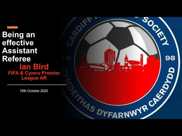 Being an Effective Assistant Referee with Ian Bird