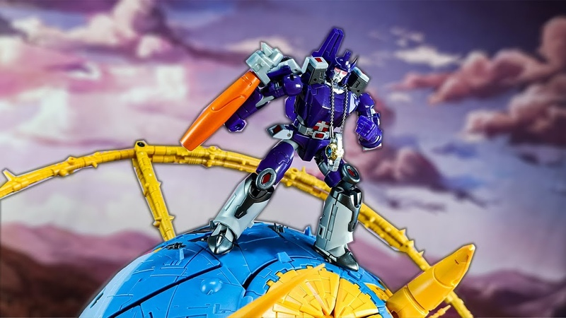 Transformers stop motion:The Mad King!NA Darius Galvatron Trasnformation By Mangmotion.NA驚破天格威隆定格動畫
