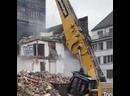 Демонтаж здания без пыли