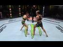 Аманда Лемос нокаутировала Монтсеррат Руиз на 35 секунде боя!