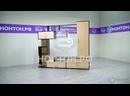 Обзор стенки «Диско» разумное сочетание открытых полок и шкафов