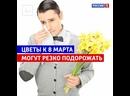 Сколько будут стоить цветы к 8 Марта — Россия 1