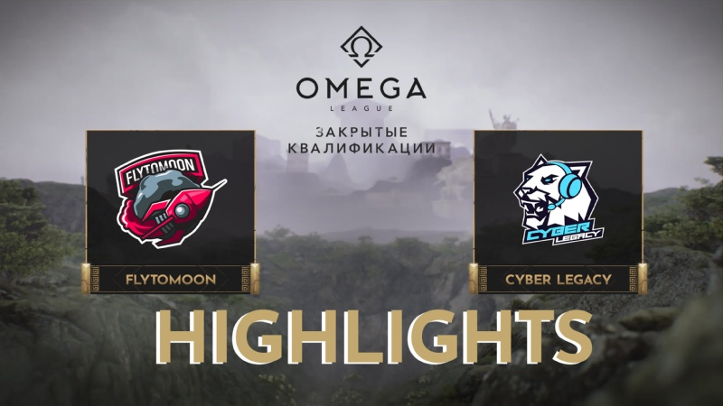 FlyTomoon vs Cyber Legacy Highlights OMEGA League Europe Divine Division