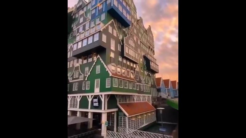 Сказочные домики Амстердама.