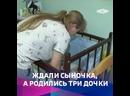 Семья, в которой родилась тройня, уже воспитывала пятерых детей
