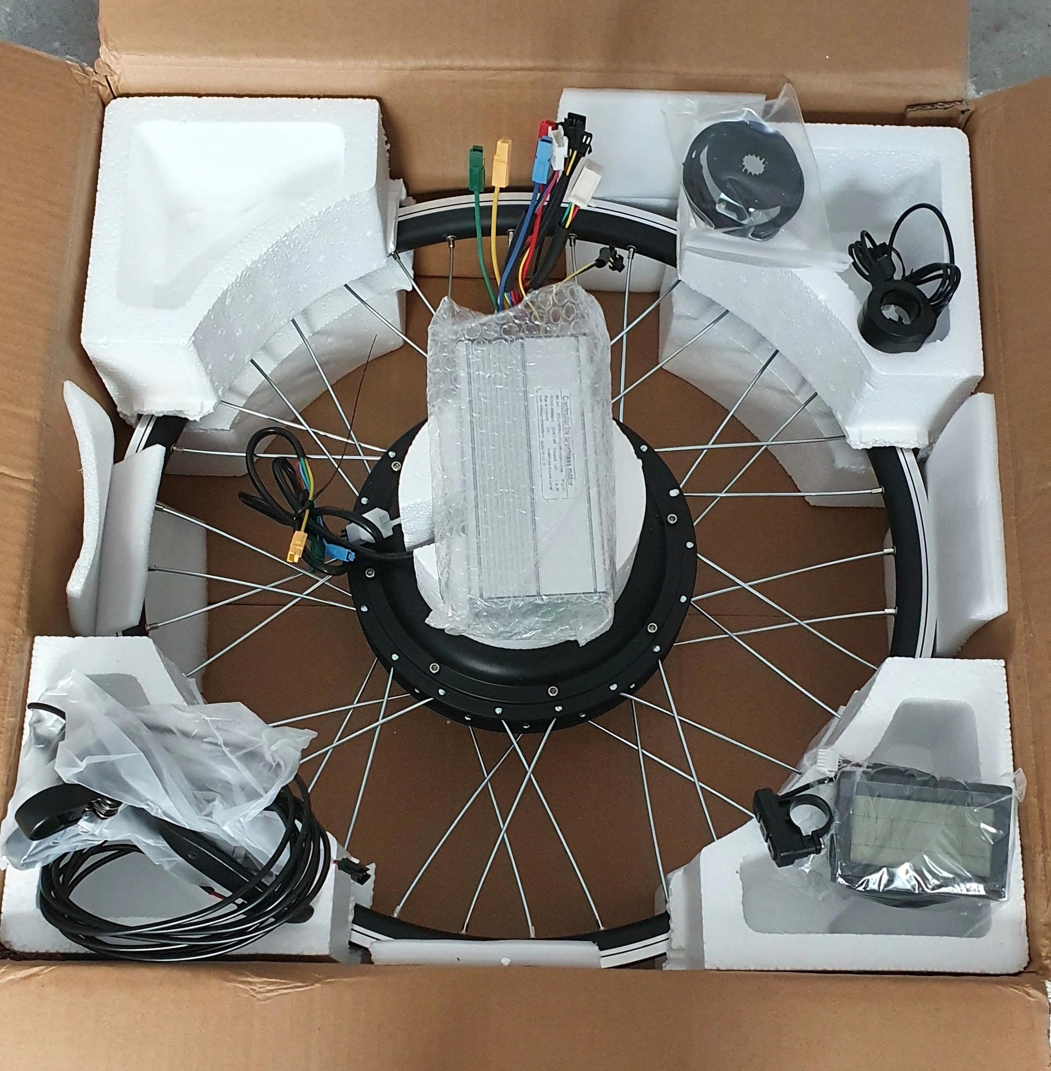 Мотор-колесо для сборки электровелосипеда