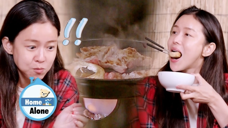 Kyung Soo Jin Feels Happy While Waiting for the Food to be Cooked [Home Alone Ep 318]