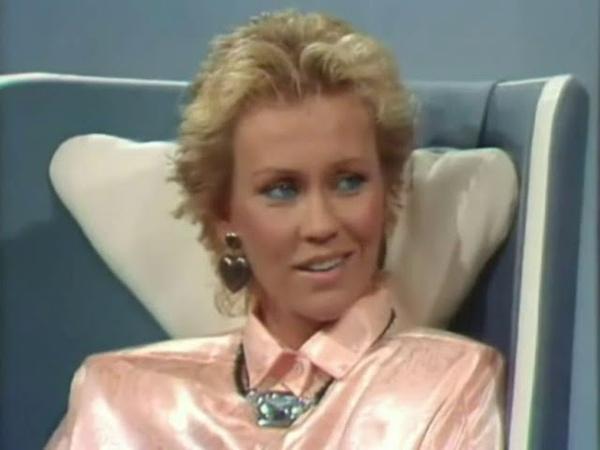 Agnetha Fältskog är Gäst Hos Hagge 1985