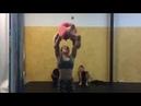 Girl lifts girl 20 lbs heavier win