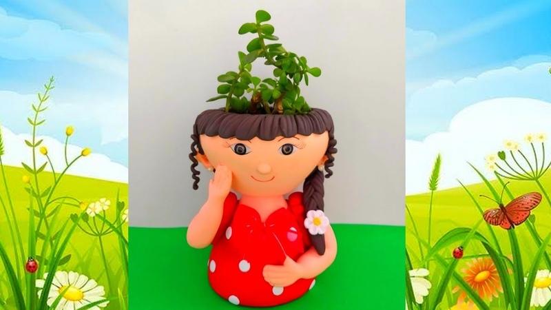 Aula de Biscuit Completa Vasinho menina flor