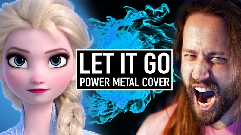 Let it Go (Disneys Frozen) POWER METAL COVER by Jonathan Young