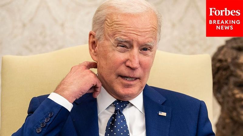 GOP Senator Mocks Biden's Infrastructure Proposal In Senate Floor Speech
