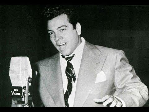 Mario Lanza - La fleur que tu m'avais jetée (RCA test record, 1945)