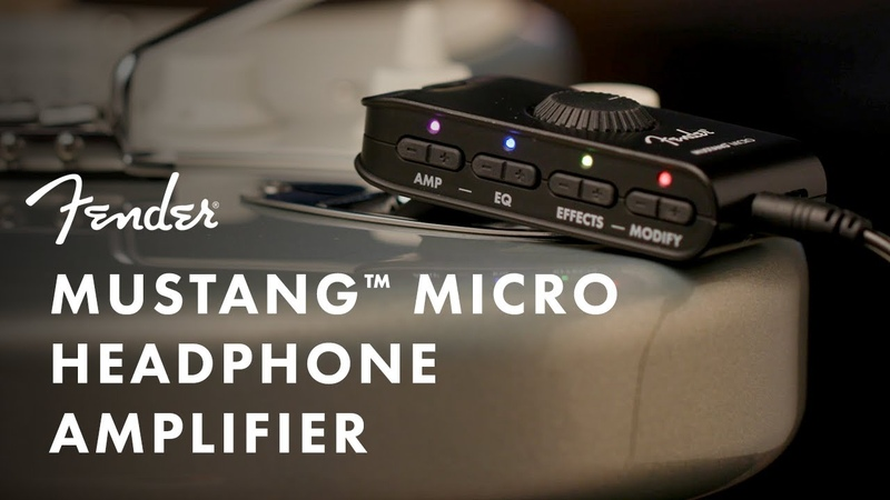 Exploring The Mustang Micro Headphone Amplifier   Fender Amplifiers   Fender