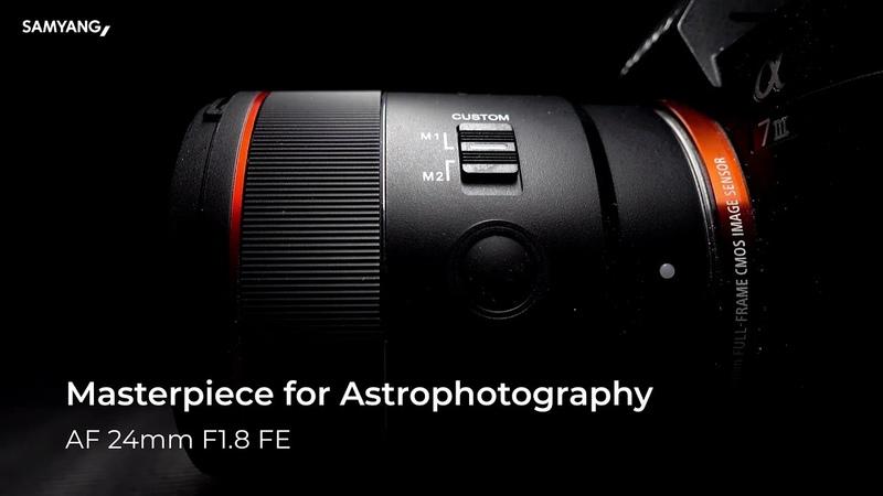 Introducing the NEW Samyang AF 24mm F1 8 FE