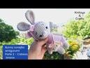 Bunny Conejita Amigurumi - Parte 2 Cabeza, orejas y brazos