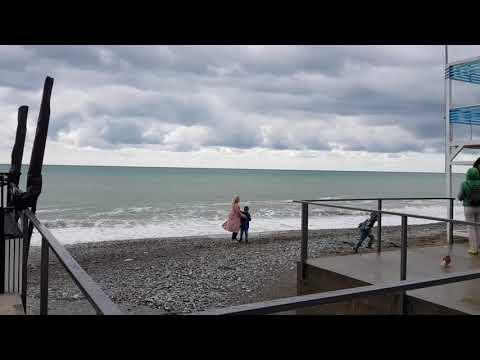 Лазаревское Море в День Великой Победы С праздником друзья Пляж Морская звезда 9 мая 2021