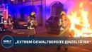 BERLIN Polizei räumt Kneipe Meuterei in Kreuzberg - Proteste und brennende Autos