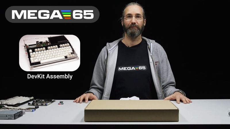 MEGA65 DevKit Assembly