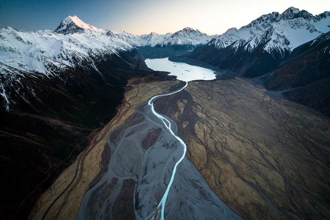 Return to Natural Documenting the Tasman Glacier