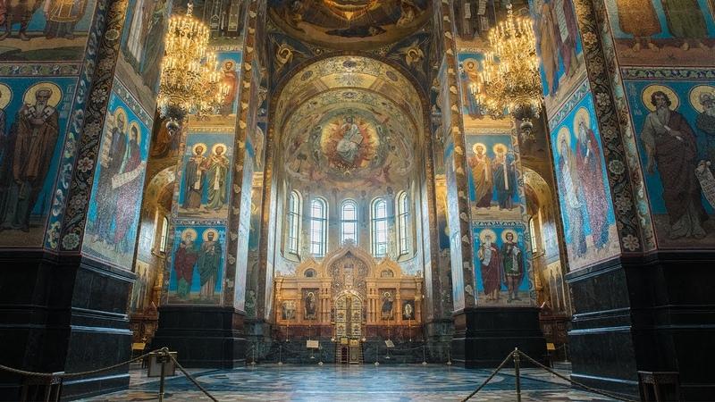 Виртуальная прогулка по Храму Воскресения Христова Спас на крови