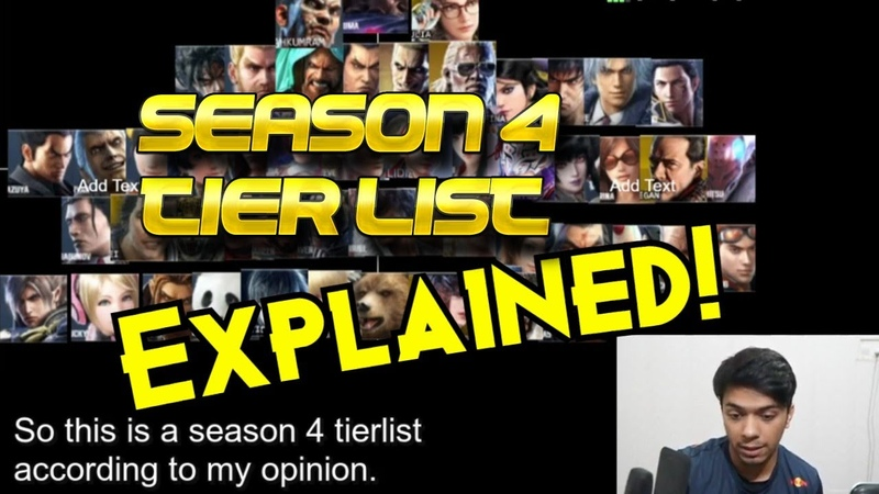Arslan Ash Explains His Season 4 Tier List