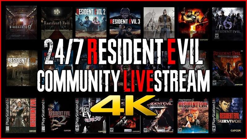 🔴 24 7 Resident Evil TV RE0 1 2 3 4 5 6 7 8 CVX REV UC DSC ORC 4K60ᶠᵖˢ UHD