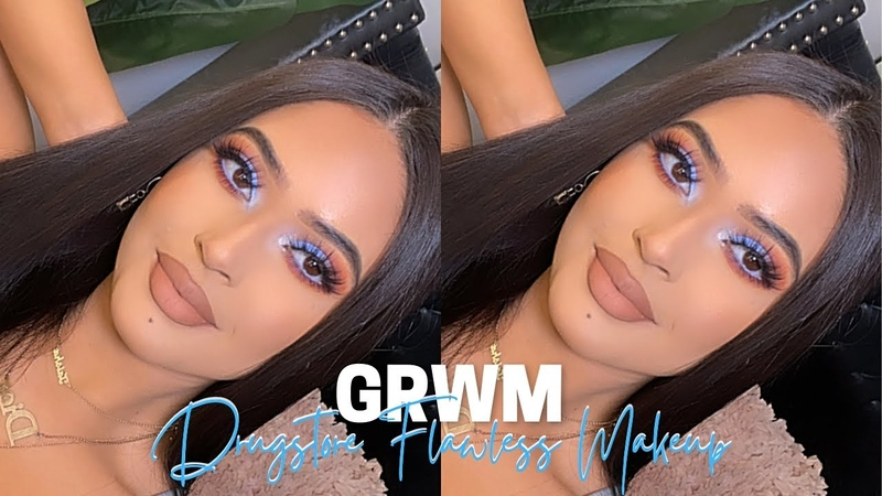GRWM ♡ Full Coverage DRUGSTORE Routine✨ MAKEUP TUTORIAL BH COSMETICS BFF ALONDRA ELSY Palette