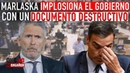 ¡MARLASKA COMETE LA MAYOR PIFIA DEL GOBIERNO Y CAUSA UNA CRISIS INTERNA ENTRE LOS MINISTROS!