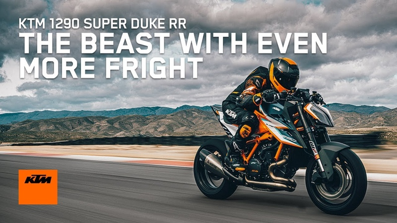 The KTM 1290 SUPER DUKE RR THE BEAST with even more fright KTM