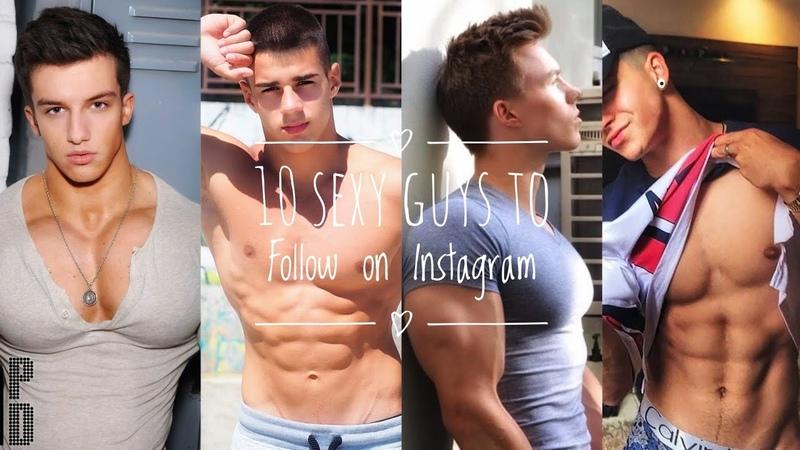10 Sexy Guys to Follow on Instagram | part 1 🔥| 4K
