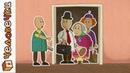 Смешные короткие мультики для детей Человечки. Сборник мультфильмов